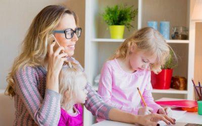 ¿Cómo tener una entrevista de negocios/trabajo virtual con 2 niños de 4 años en casa?